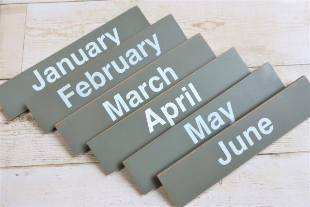毎月を表す写真
